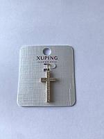 Крест с камнями, Бижутерия, медицинский сплав