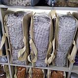 Покривало Чохол Жатка на Кутовий диван Світло - сірий універсальний натяжна з спідницею, фото 5