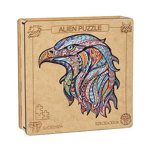 Дерев'яний пазл Alien Puzzle Lesko QJ-267 Eagle головоломка для дітей птиці