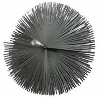 Щетка металлическая для чистки твердотопливного котла 175мм