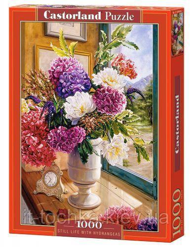 Пазлы Цветы 1000 елементів castorland