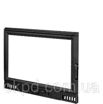 Чавунна дверцята для каміна KAW-MET W1