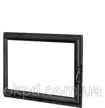 Чугунная дверь для камина KAW-MET W11