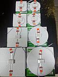 Светодиодный светильник 36w квадрат врезной AVT-SQUARE ESTER 36ВТ 6000К, фото 8