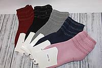 Женские носки махровые средние PIER LONE с камнями к-1567   к-1567