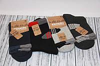 Спортивні чоловічі шкарпетки махрові з тонким верхи ZG 41-44 асорті