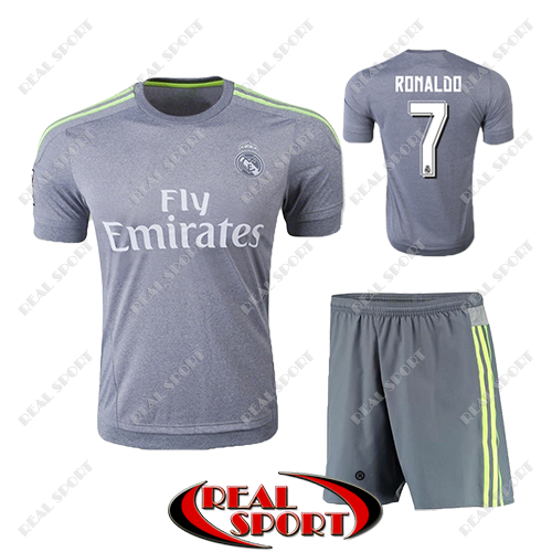 304bfbad9ab4 Купить Футбольная форма детская Реал Мадрид Роналдо №7. Гостевая ...