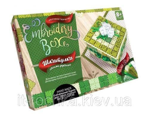 "Набір для творчості ""Скринька embroidery box: white roses"""