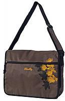 Молодежная модная сумка Daniel Ray полиэстер 43,569701 коричневая