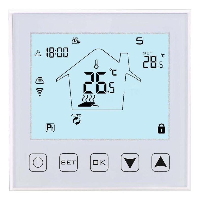 Программируемый WIFI терморегулятор BHT 324 для теплого пола
