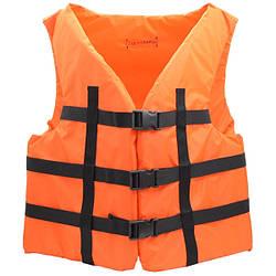 Жилет страховочный ЖС (110-130) Оранжевый