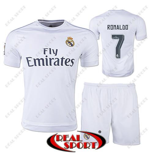 d65798346401 Купить Футбольная форма детская Реал Мадрид Роналдо №7. Основная ...