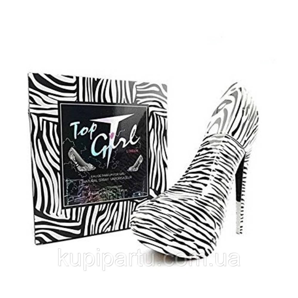 Top Girl London EDP 100 мл Woman (женские духи в виде туфельки) Tiverton 81183