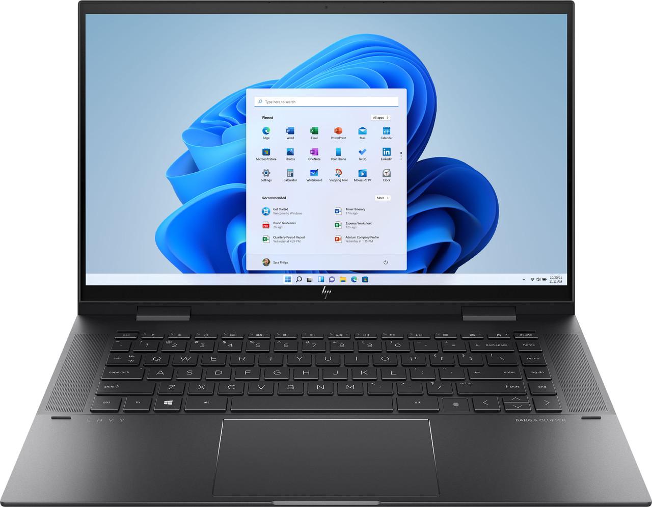 """HP ENVY x360 2-in-1 15.6"""" Touch-Screen Laptop - AMD Ryzen 5 - 8GB - 15m-eu0013dx"""