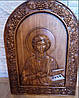 Икона Святого Пантелемона Целителя арочная