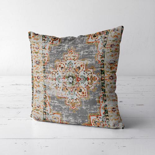Подушка декоративна Soft Потертый Персидский узор 50x50 см (50PST_FLORA002)