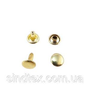 Холитен 7х7 Золото (100шт.) двухсторонний (СТРОНГ-1016)