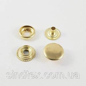 Кнопка №61 15мм Золото (50шт.) (СТРОНГ-0790)