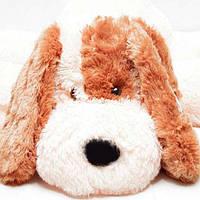 Плюшевая игрушка собачка - лежачий Шарик, размер - 75 см. Популярная игрушка. Красивая игрушка. Код: КЕ446-1