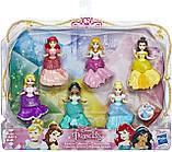 Набор принцесс с платьями клипс 6 штук Disney Princess Royal Clips Оригинал из США, фото 2