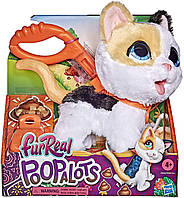 Интерактивный шаловливый котенок на поводке Котенок FurReal Poopalots Big Wags Interactive Pet