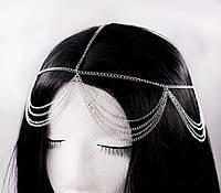 Прекрасна тика прикраса на голову Тіара (срібло) №80