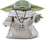 Інтерактивний Малюк Йоду 19 см Star Wars The Child Talking Plush Toy Зоряні Війни Мандалорец Оригінал з США, фото 2