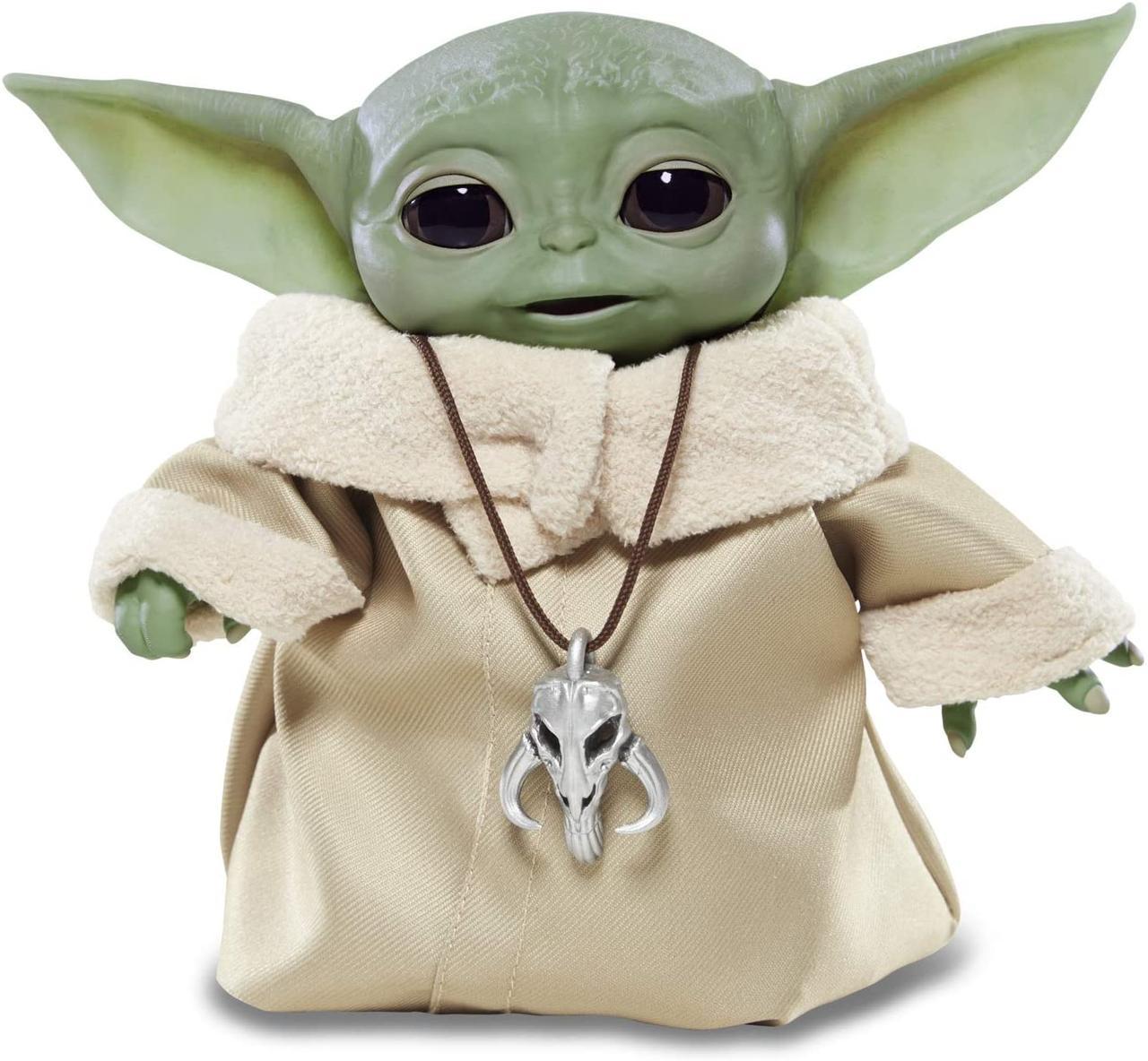 Інтерактивний Малюк Йоду 19 см Star Wars The Child Talking Plush Toy Зоряні Війни Мандалорец Оригінал з США