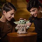 Інтерактивний Малюк Йоду 19 см Star Wars The Child Talking Plush Toy Зоряні Війни Мандалорец Оригінал з США, фото 3