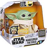 Інтерактивний Малюк Йоду 19 см Star Wars The Child Talking Plush Toy Зоряні Війни Мандалорец Оригінал з США, фото 5