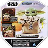 Інтерактивний Малюк Йоду 19 см Star Wars The Child Talking Plush Toy Зоряні Війни Мандалорец Оригінал з США, фото 7