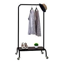 Стойка для одежды «Лофт 2А Пром» Чёрный, фото 1