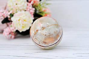Шар из натурального камня оникс, 6.5 см