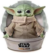 Мягкая игрушка Звёздные войны Малыш Йода 28 см  Star Wars, Mattel Оригинал из США