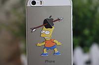 Оригинальный чехол Iphone 5,5s серия Симпсоны Барт