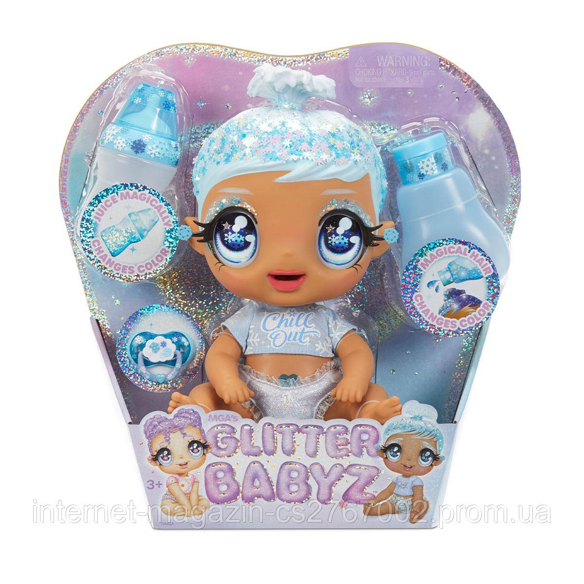 Игровой набор с куклой GLITTER BABYZ - СНЕЖИНКА