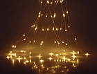 Гирлянда Конский хвост 400 LED, 14 нитей, Золотая (Желтая, Теплый белый), проволока, от сети, 3м., фото 6