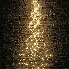 Гирлянда Конский хвост 400 LED, 14 нитей, Золотая (Желтая, Теплый белый), проволока, от сети, 3м., фото 8