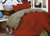 Двухстороннее постельное белье Винный + Порох