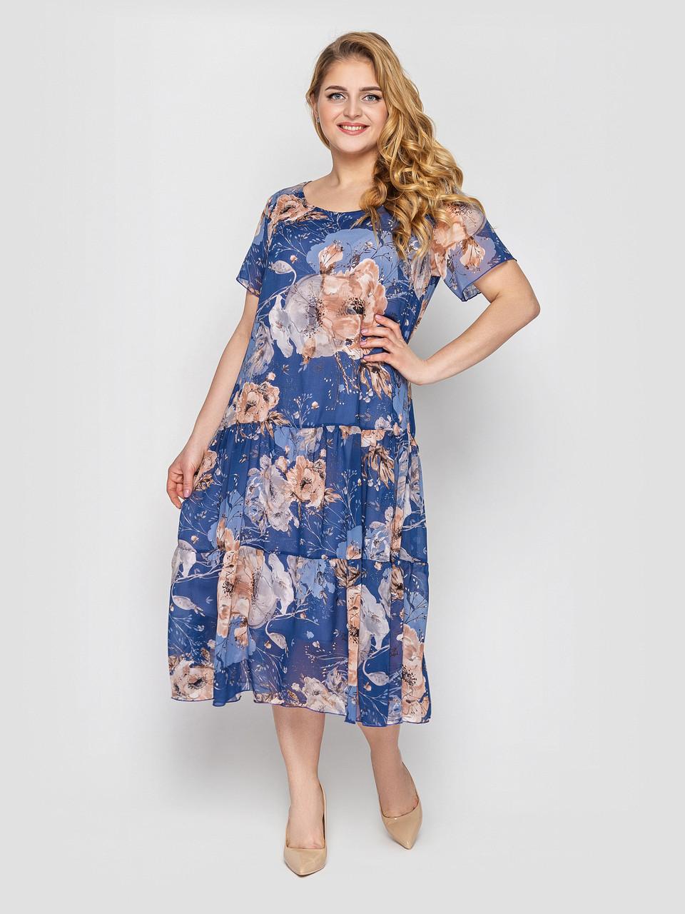 Платье летнее Катаисс деним
