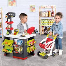 Супермаркет ігрової з візком і продуктами Smoby 350228, фото 2