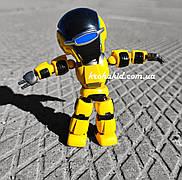 Интерактивный робот повторюшка со светом и звуком на русском языке, повторяет фразы, высота 13,5 см 1341Y