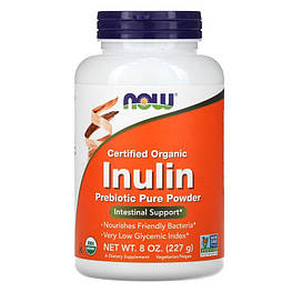 Inulin Pure Powder Now Foods 227 г