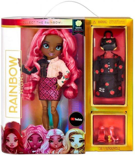 Лялька Рейнбоу Хай Троянда Rainbow High S3 Daria Roselyn 575733