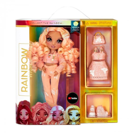Кукла Рейнбоу Хай Персик Rainbow High S3 Georgia Bloom 575740