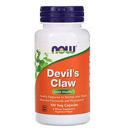Devil's Claw Now Foods 100 капсул