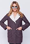 Пальто Грейс Джинс коричневий Emass 42 р., фото 2
