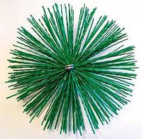 Щетка пластиковая для чистки твердотопливного котла 200мм
