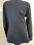 Женская трикотажная пижама большого размера с длинным рукавом Мишки размер 2XL, фото 10