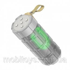 Портативная Bluetooth колонка Hoco HC7 Pleasant sports FM, TF, AUX, USB grey